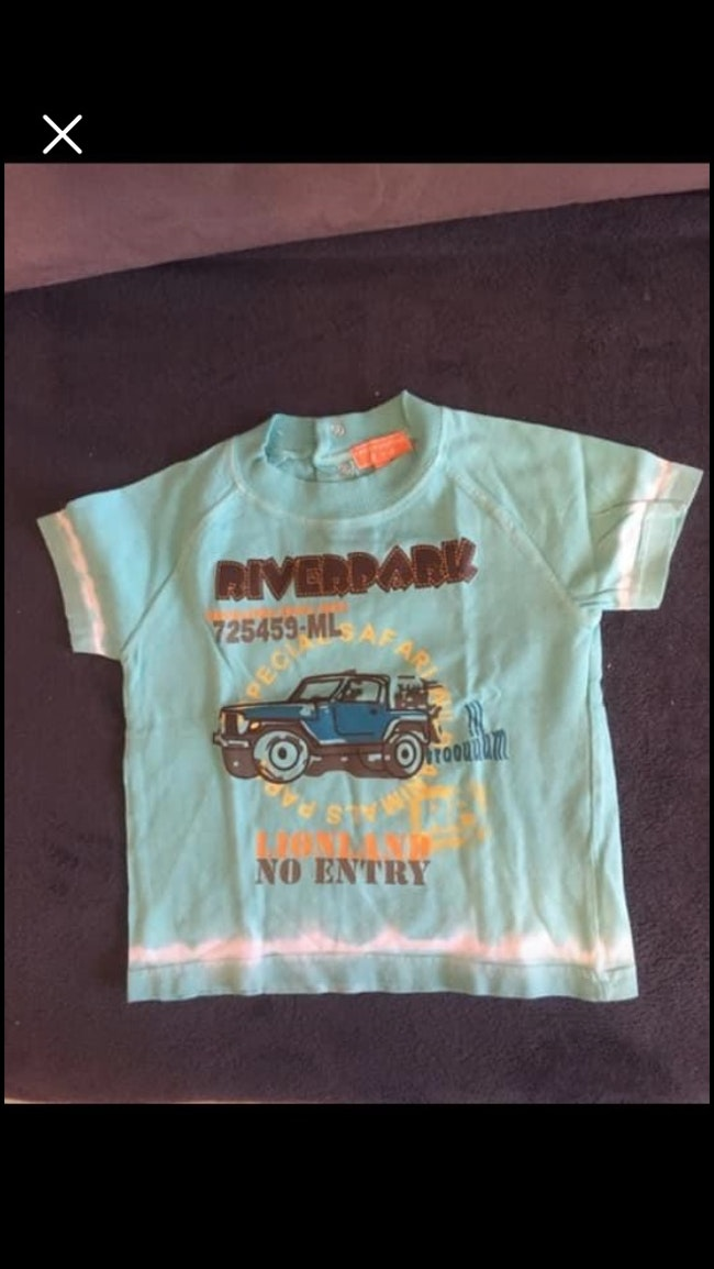 T-shirt trottinette et Cie
