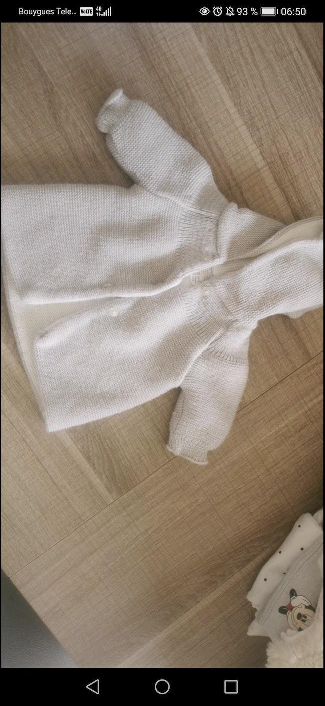 Manteau tricoté