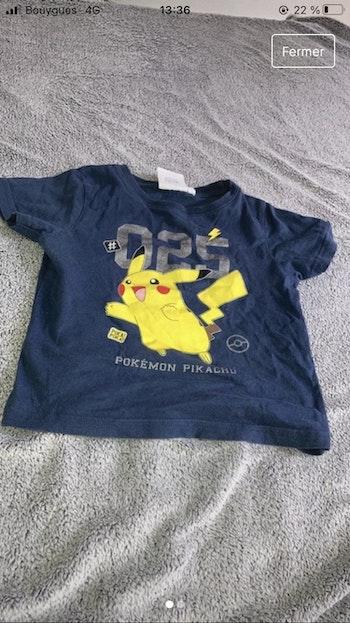 Tee shirt Pokémon