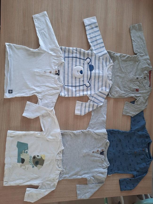 Lot de 11 t-shirt manches longue