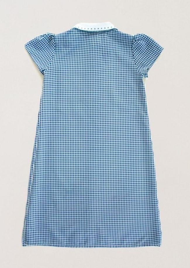Robe Vichy Bleu
