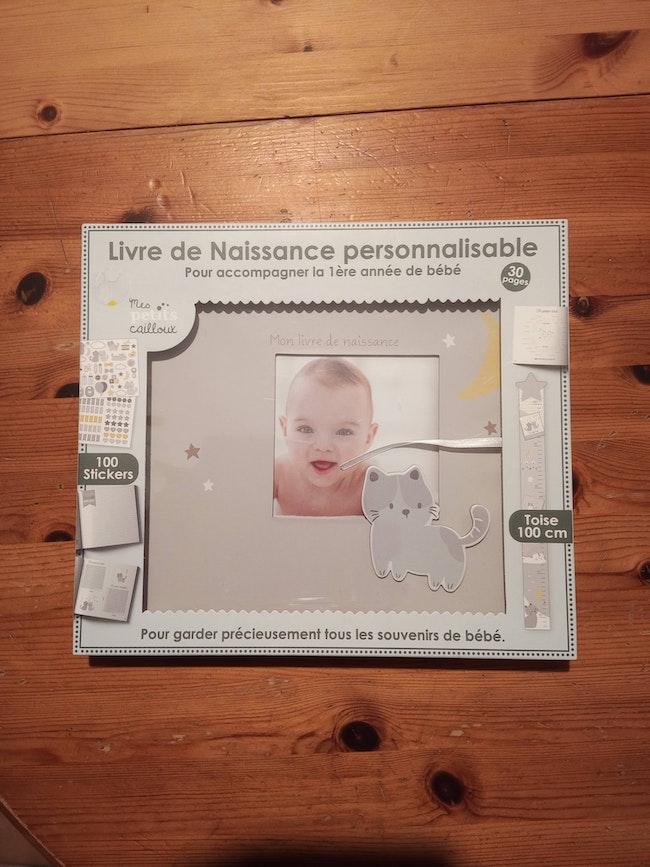 Livre de naissance personnalisable