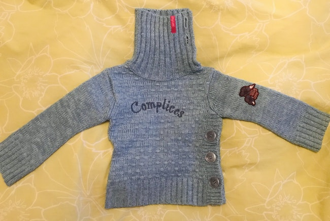 Pull Complices - 3 ans