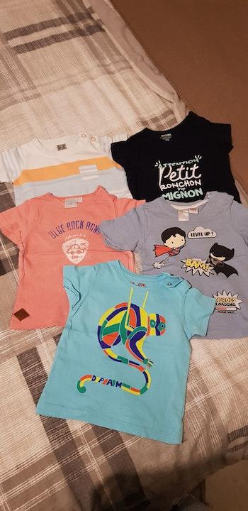 T-shirts manche courte