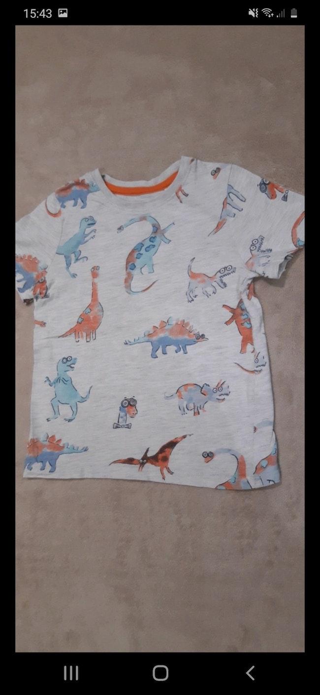 Tee-shirt dinosaure, taille 3 ans