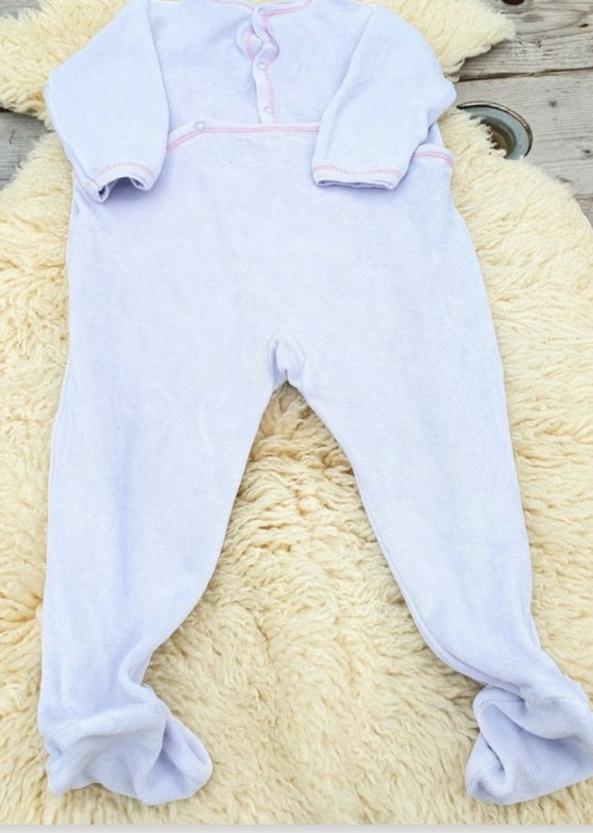Pyjama velours 18 mois Petit Bateau