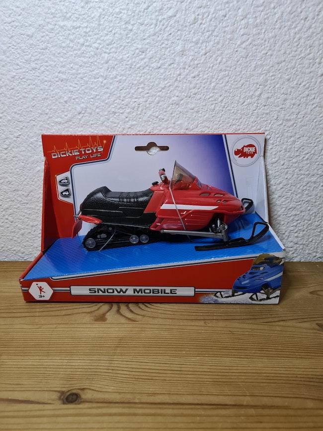 moto neige rouge dickie toys