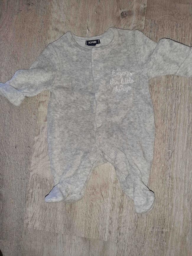Pyjama 00 mois prématuré neuf