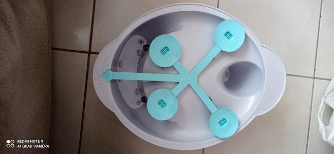 Anneau de bain Anatomy - Gris perle - Tigex