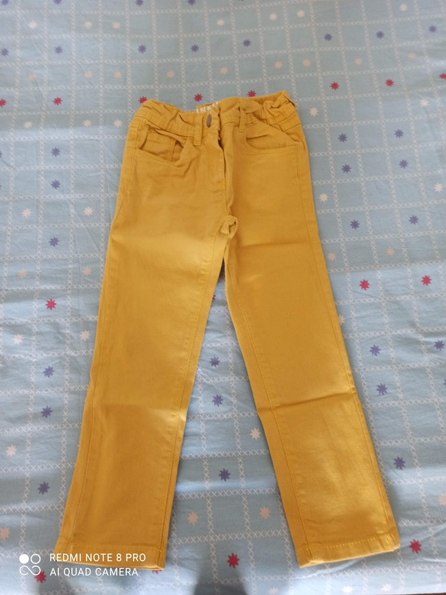 Jeans moutarde