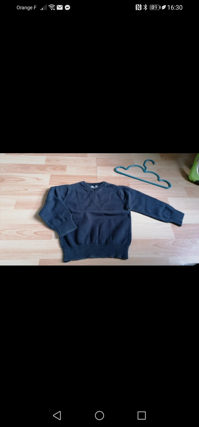 Pull fin 3 ans
