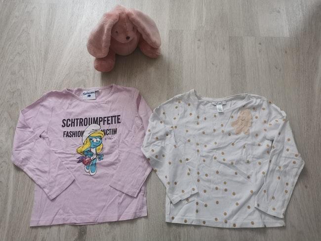 Lot t-shirts manches longues