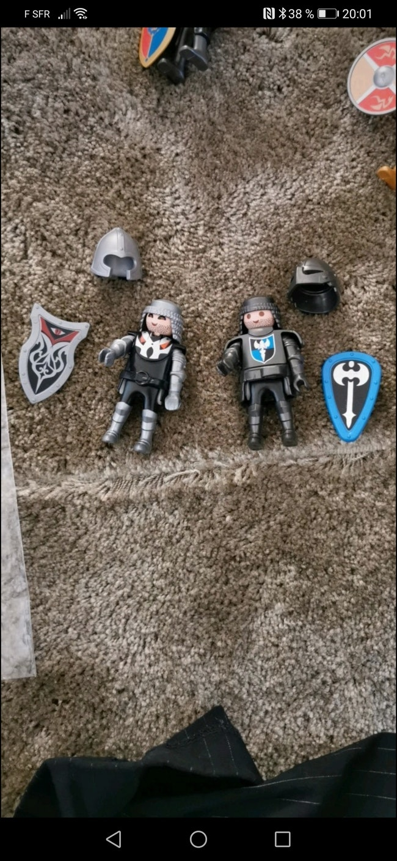 Lot playmobil chevalier