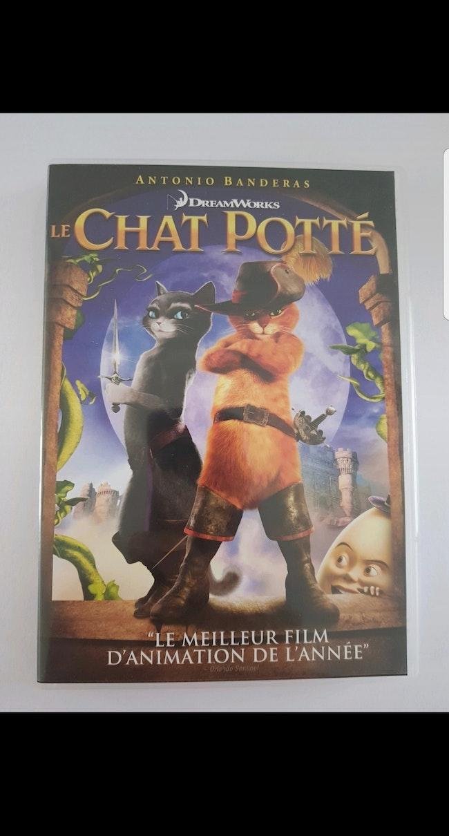 DVD : Le chat potté