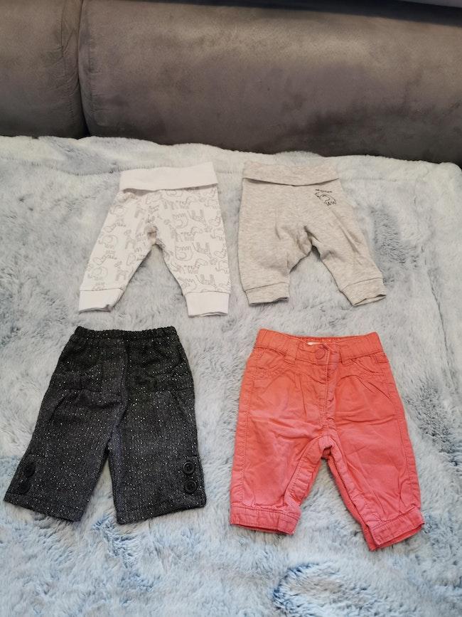 Lot de 4 pantalon
