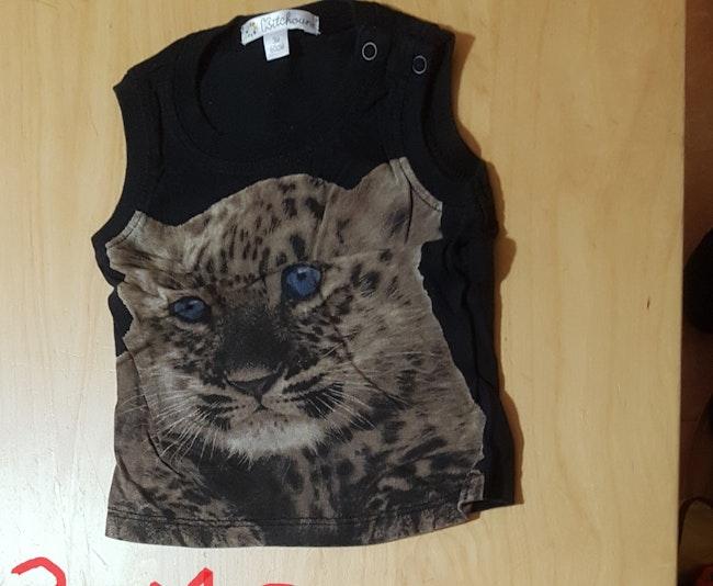 Debardeur leopard