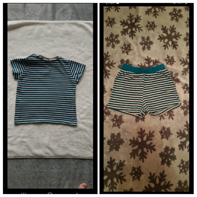 Ensemble short et tee-shirt 9/12 mois