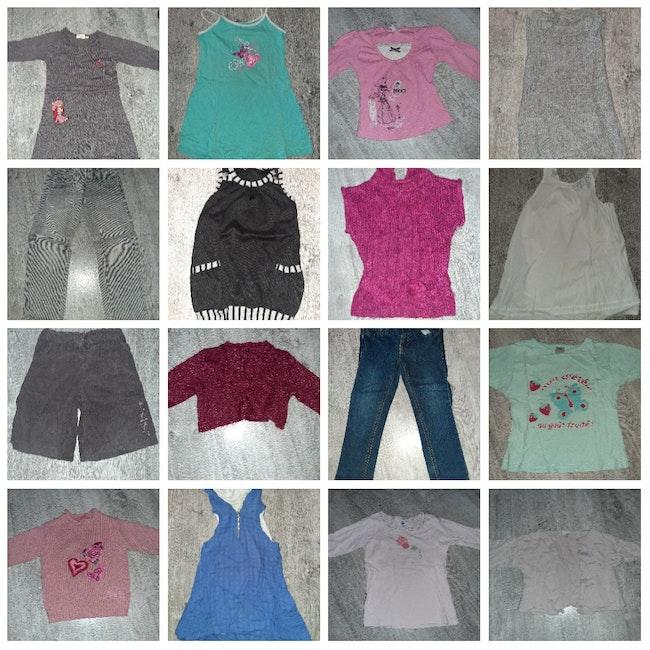 Lot vêtements 4 ans fille