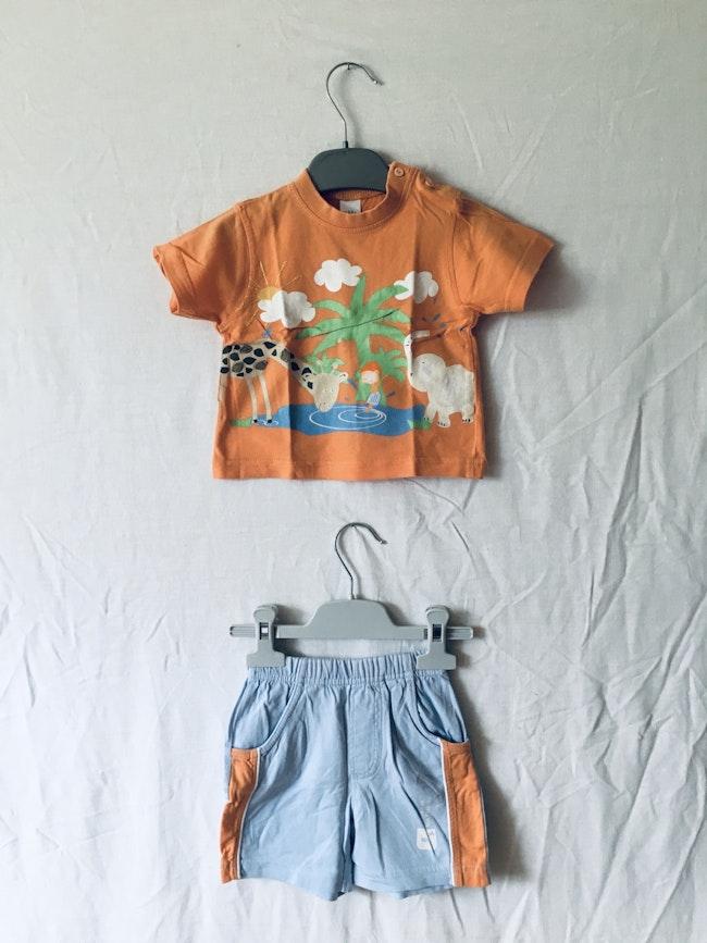 Ensemble t-shirt et short
