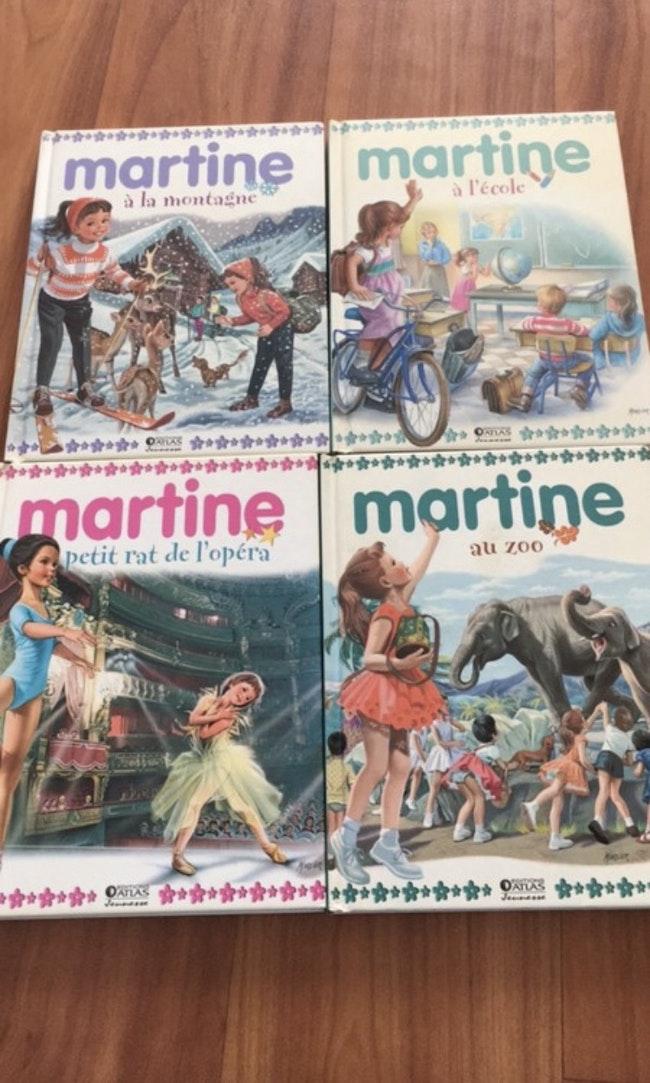 Lot 4 livres de Martine