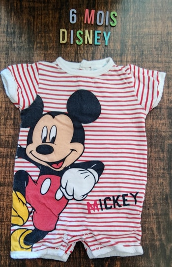 Combinaison Mickey 6mois