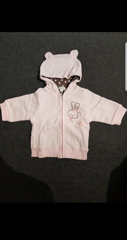 Sweat zippé à capuche bébé fille taille 3 mois