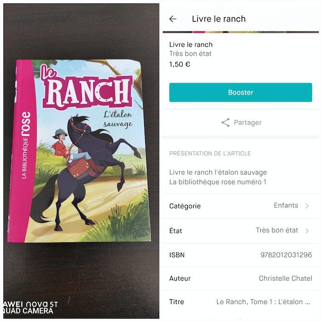 Livre le ranch