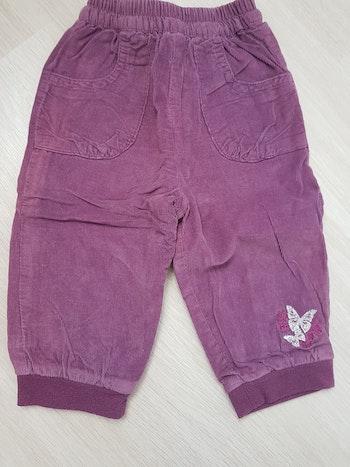 9 mois pantalon doublé