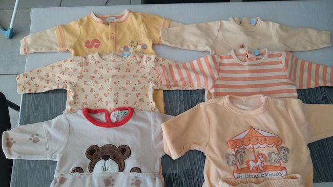 Lot de 6 pyjamas 6 mois