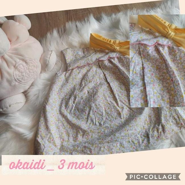 Robe okaidi 3 mois