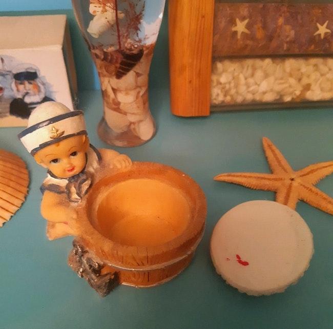 """Petite boîte """"Bébé marin"""""""
