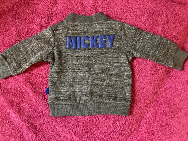 Veste zippée Mickey