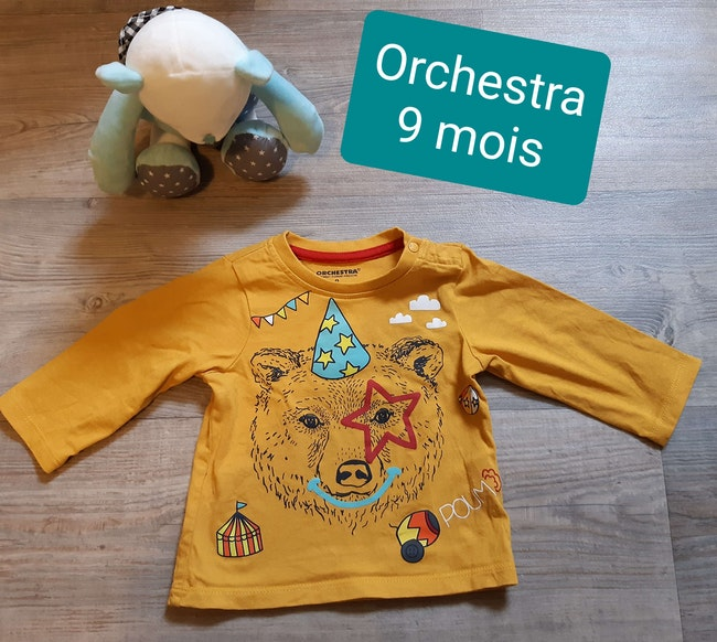 T-shirt orchestra 9 mois