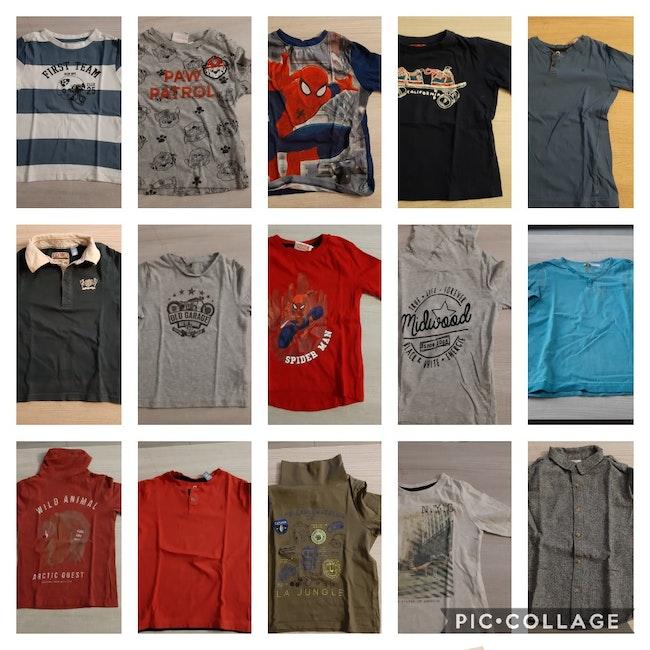 Lot t-shirt manches longues 6 ans