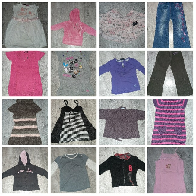 Lot vêtements 4 ans fille