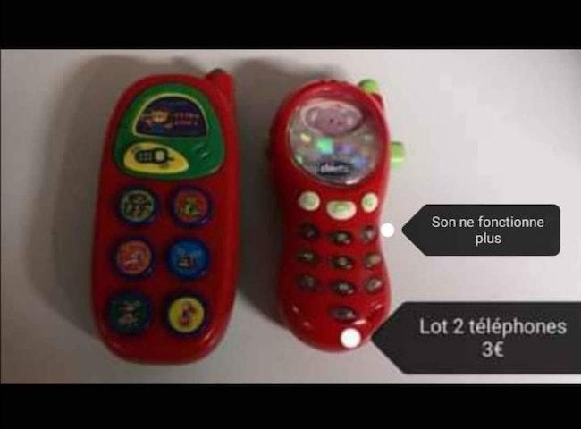 Téléphones 1er âge