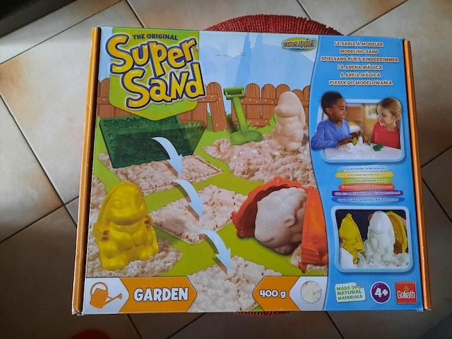 Lot 2 boîtes Super Sand