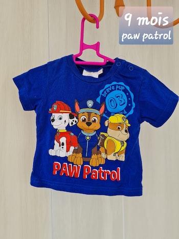 T shirt paw patrol