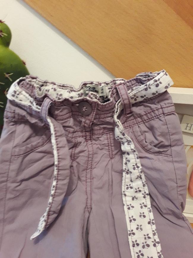 Dispo a partir du 25 avril Pantalon 3 mois doublé taille ajustable