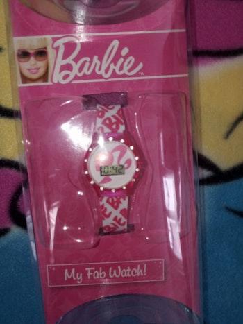 Montre Barbie digital