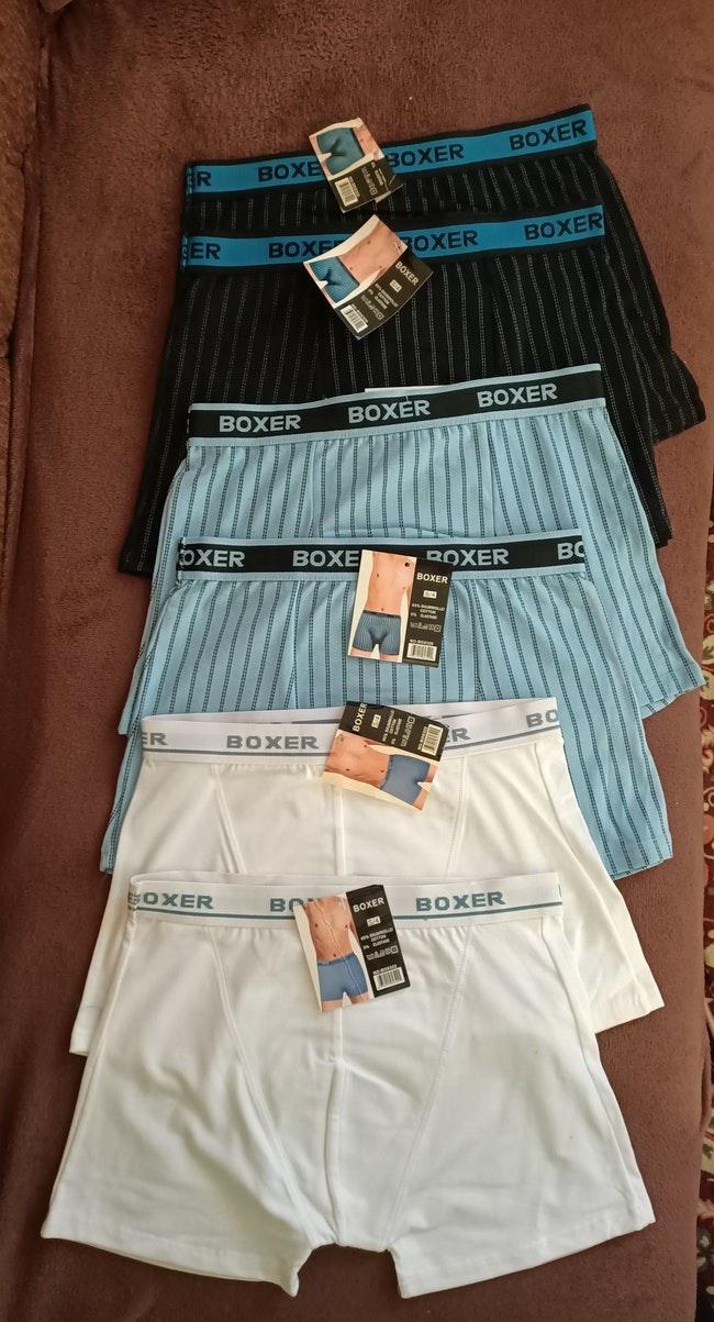 Lot 6 Boxers ado Cotton