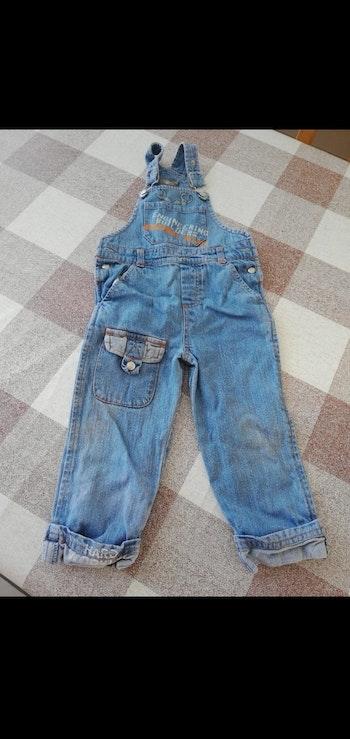 Salopette 24 mois bleu jean bébé rêve