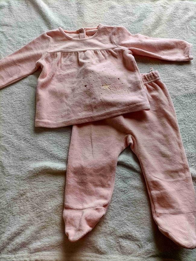 Lot 4 pyjamas 9 mois