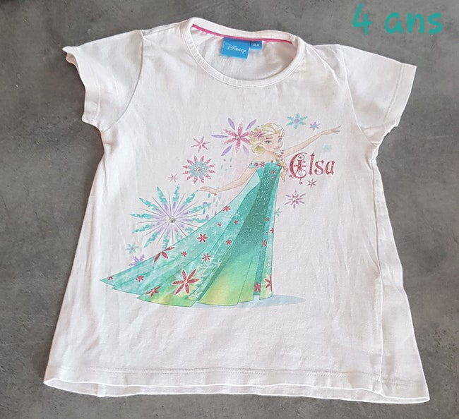 T-shirt 4 ans Disney