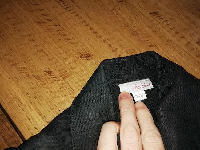 Veste en jeans taille 6 ans