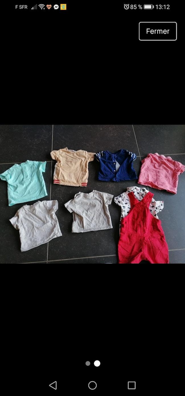 Lot 8 vêtements 3mois peu portés 5e