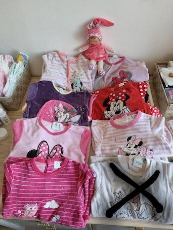 Lot de 7 pyjamas Minnie 18 mois
