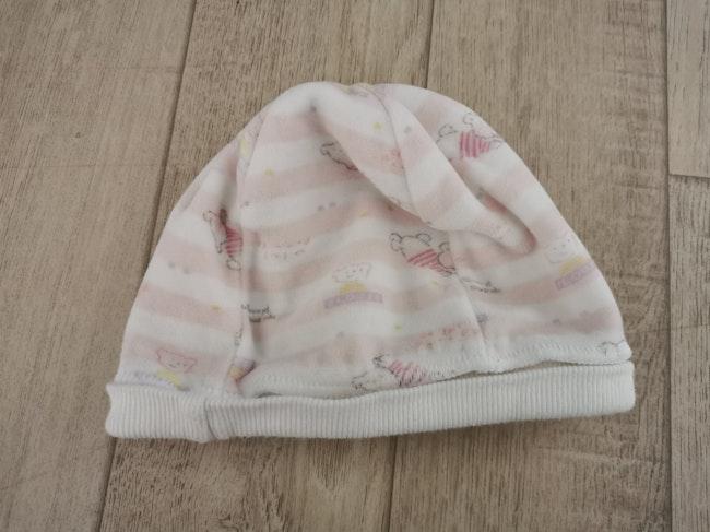 Bonnet naissance velours Absorba