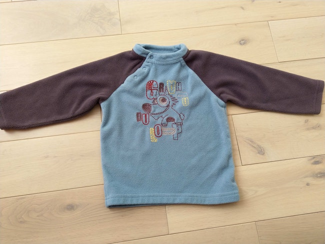Pull polaire 2 ans