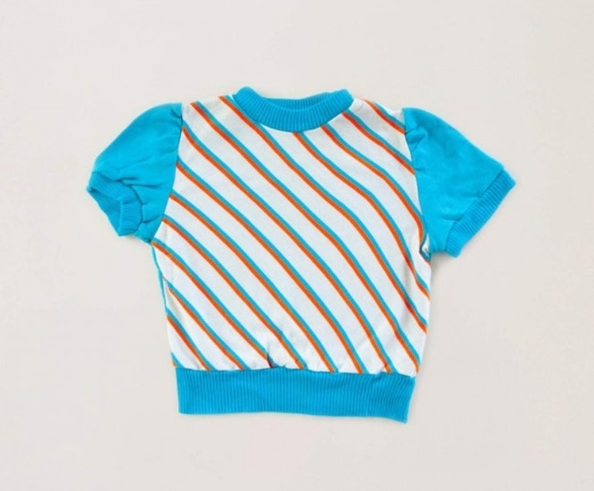 Pull 70s manches courtes